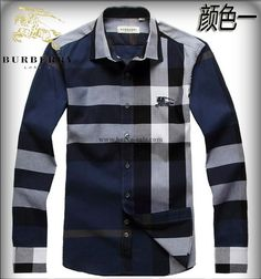 Burberry Men Shirt 2014-2015 BTS226