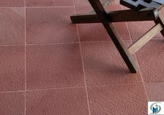 Pineapple finish in Agra red sandstone paving slabs offered by Stonemart, the leading natural stone exporter in India.