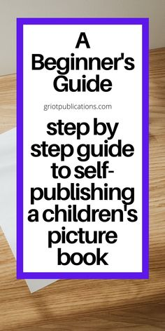 Writing Kids Books, Book Writing Tips, Fiction Writing, Writing Ideas, Writing Goals, Children's Picture Books, Children's Literature, Self Publishing, Stories For Kids