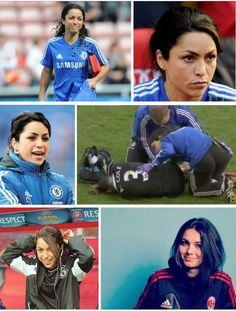 Eva Carneiro - Chelsea FC Chelsea Football Team, Chelsea Fc Players, League Champs, Fc 1, Raquel Welch, European Football, Love Affair, 4 Life, Ronaldo