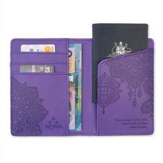 Violet Passport Wallet-The Intrinsic Way