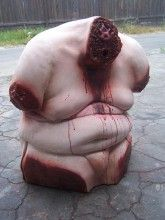 Fat Headless Raymond Torso from the Dapper Cadaver Halloween Horror, Halloween Make Up, Halloween Prop, Creepy, Scary, Props For Sale, Fat, Make It Yourself, Blood