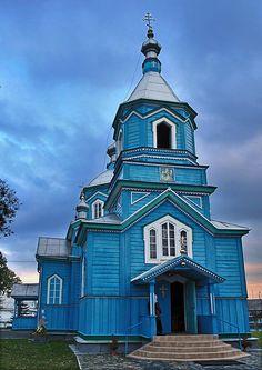Luboml Orthodox Church, Luboml,  Poland.