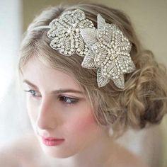 wedding fasce copricapo da sposa fronte jewelry copricapo floreale diamante corone wedding elegante accessori