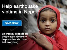 Help Earthquake victims in Nepal