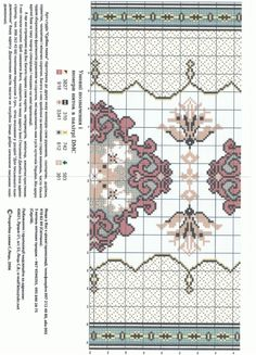 ru / Photo # 10 - my scans - Tapete Floral, Cross Stitch Patterns, Crochet Patterns, Rugs On Carpet, Needlepoint, Bohemian Rug, Embroidery Designs, Needlework, Miniatures