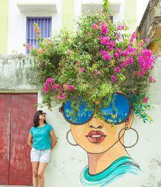 The Art City. Street Art Love, Amazing Street Art, Murals Street Art, Street Art Graffiti, Street Pictures, Land Art, Belle Photo, Urban Art, Garden Art