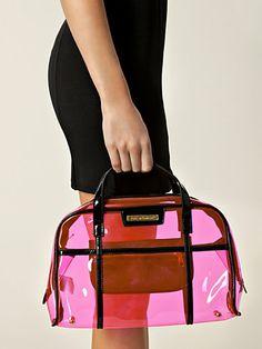 Ameno Clear Bag - Friis & Company - Rosa - Laukut - Asusteet - Nainen - Nelly.com