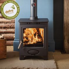 Aarrow Ecoburn 5 Plus DEFRA Wood Burning Stove