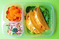 Page 5 - Bento 101: 10 Easy Bento Box Lunches - ParentMap Yum-O! My kids LOVE tacos! #gladinspiredlunches