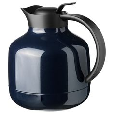 SLUKA Vacuum flask - dark blue - IKEA