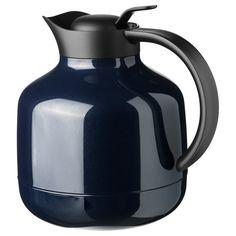 SLUKA Vacuum flask - dark blue - IKEA