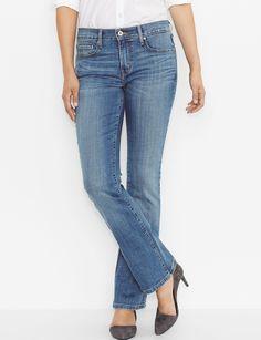 Levi's 515 Blue Salvation Bootcut Jeans