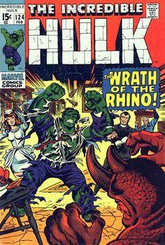 Incredible Hulk # 124 by Herb Trimpe
