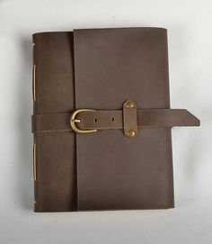 Leather journal blank