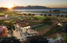 Shortlist für Park in San Francisco / Snohetta, West 8, Olson Kundig - Architektur und Architekten - News / Meldungen / Nachrichten - BauNetz.de