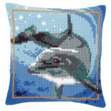 Kruissteek kussenpakket Vervaco Dieren nr. PN-0021528 Dolfijn