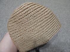 Gorra Espiral Crochet