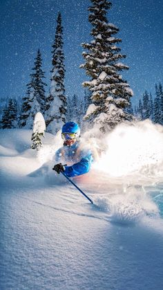 Skiing is a dance, and the mountain always leads