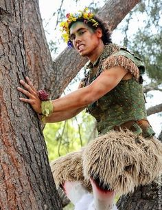 Midsummer Night's Dream Characters, Faun Makeup, Faun Costume, Native American Men, Dream Party, Fairy Clothes, Male Cosplay, Midsummer Nights Dream, Fantasy Costumes