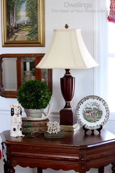 DWELLINGS-The Heart of Your Home: Staffordshire Pup Pitcher ~ Changes in the Great Room