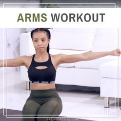 Get Toned Arms - Workout 10 Minute Ab Workout, Best Ab Workout, Abs Workout Routines, Ab Routine, Tummy Workout, Arm Toning Exercises, Best Abdominal Exercises, Stretches, Get Toned