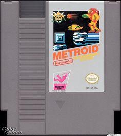 Metroid NES Catridge Cover