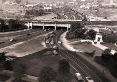 Dealey Plaza, Dallas in the 1950's