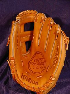 I look at this 80s Wilson glove and I wonder if it's the exact same one I had. I can still smell it today