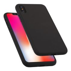Degrees Full Coverage Detachable PC Case with Tempered Glass Film for iPhone XS Max (Black) Iphone Parts, Max Black, Pc Cases, Glass Film, Shenzhen, Buttons, Simple, Easy, Design