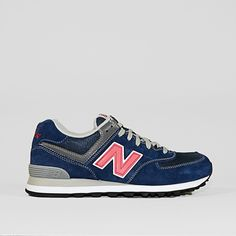Sneakers NEW BALANCE ML 574N (Suede) Marine