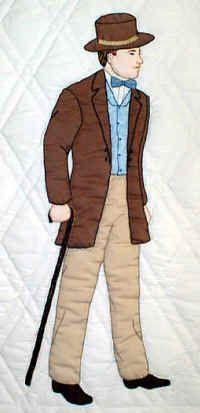"""** Sunbonnet Sam """"Adam"""" Applique Quilt Block Of The Month Pattern Quilt Block Patterns, Applique Patterns, Applique Quilts, Applique Designs, Quilting Designs, Quilt Blocks, Sue Sunbonnet, Victorian Shirt, Sewing Appliques"""