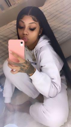Sew In Hairstyles, Baddie Hairstyles, Black Girl Aesthetic, Aesthetic Hair, Hair Inc, Teen Swag Outfits, Pretty Black Girls, Pretty Girl Swag, Really Cute Outfits