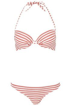 Shop the hottest swimwear & beachwear at Topshop. Cut-out swimsuits and mix & match bikini separates exude holiday-cool. Get free click & collect on all orders. Honeymoon Outfits, Honeymoon Clothes, Topshop, Mix And Match Bikini, Cut Out Swimsuits, Striped Bikini, Beachwear, Swimwear, Bikini Fashion