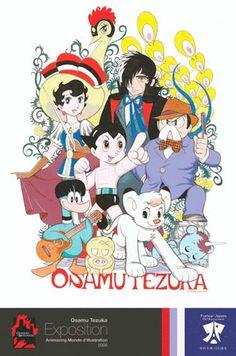 "Tezuka Osamu - ""God of Manga,"" one of Japan's most cherished and prolific manga and anime artists. Credits include AstroBoy, Kimba the White Lion, and Princess Knight Astro Boy, Manga Artist, Comic Artist, Kimba The White Lion, Manga Anime, Anime Art, Manga Illustration, Manga Characters, Vintage Comics"