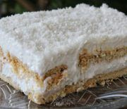 You will not believe that this is a VEGAN Dessert - Jim Michailidis Vegan Sweets, Vegan Desserts, Easy Desserts, Greek Desserts, Greek Recipes, Greek Cake, Fridge Cake, Cake Recipes, Dessert Recipes