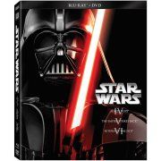 Star Wars: The Original Trilogy - A New Hope / The Empire Strikes Back / Return Of The Jedi (Blu-ray + DVD) (Widescreen) Image 1 of 2