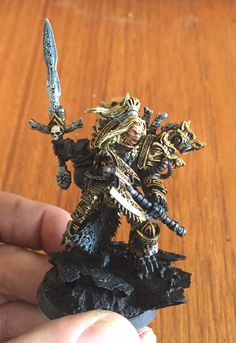 Space Wolves Primarch, in progress. Warhammer Paint, Warhammer 40000, Shadow Wolf, Grey Beards, Space Wolves, Warhammer 40k Miniatures, Mini Paintings, Crusaders, Space Marine