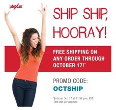 Free shipping through 10/17/16!! Best time to try Plexus with a 60 day money back guarantee!!