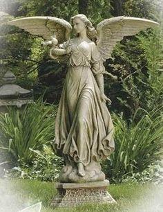 Charmant Roman 46 5 Classic Angel Garden Statue Yard And Garden Decor
