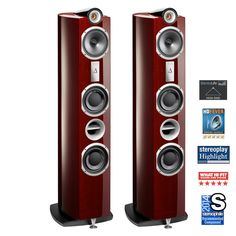 Triangle Signature Delta Loudspeakers available at AudioEmotion.co.uk