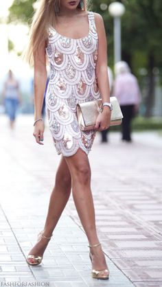 #Lovely Dress #Fashion Design #Casual Dress    fashforfashion -♛ STYLE INSPIRATIONS♛: dress