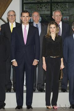 Princess Letizia and Prince Felipe in Madrid - May 2012