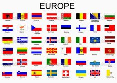 Illustration about List of all European country flags. Illustration of european, greece, europe - 12977649 Flags Of European Countries, European Flags, Countries And Flags, Countries Of The World, World Country Flags, Flag Country, Country Names, All World Flags, World Flags With Names