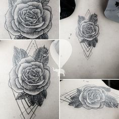 Triangle, Facebook, Tattoos, Flowers, Bucaramanga, Thanks, Colombia, Tatuajes, Tattoo