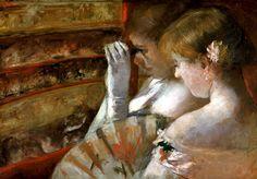 In the Box 1879  Mary Cassatt
