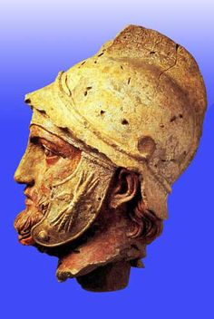 Parthian head ~Pre-Islamic Persia