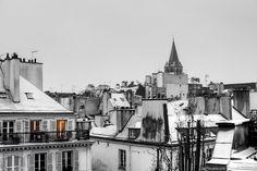 Paris' Roofs & Snow – Saint Germain des Prés