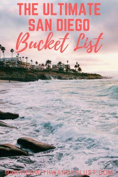 Moving to San Diego, live there, or love to visit? Read this ultimate San Diego Bucket List for 100 things to do in San Diego (and the surrounding county)! San Diego Vacation, San Diego Travel, San Diego Beach, Beaches In San Diego, Mission Beach San Diego, Pacific Beach San Diego, California Vacation, California Dreamin', Chula Vista California