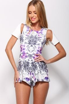 Make It Home Playsuit White